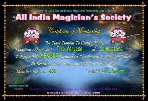 ALL indiqa Magician Society in Punjab